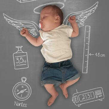 Faire-part de naissance